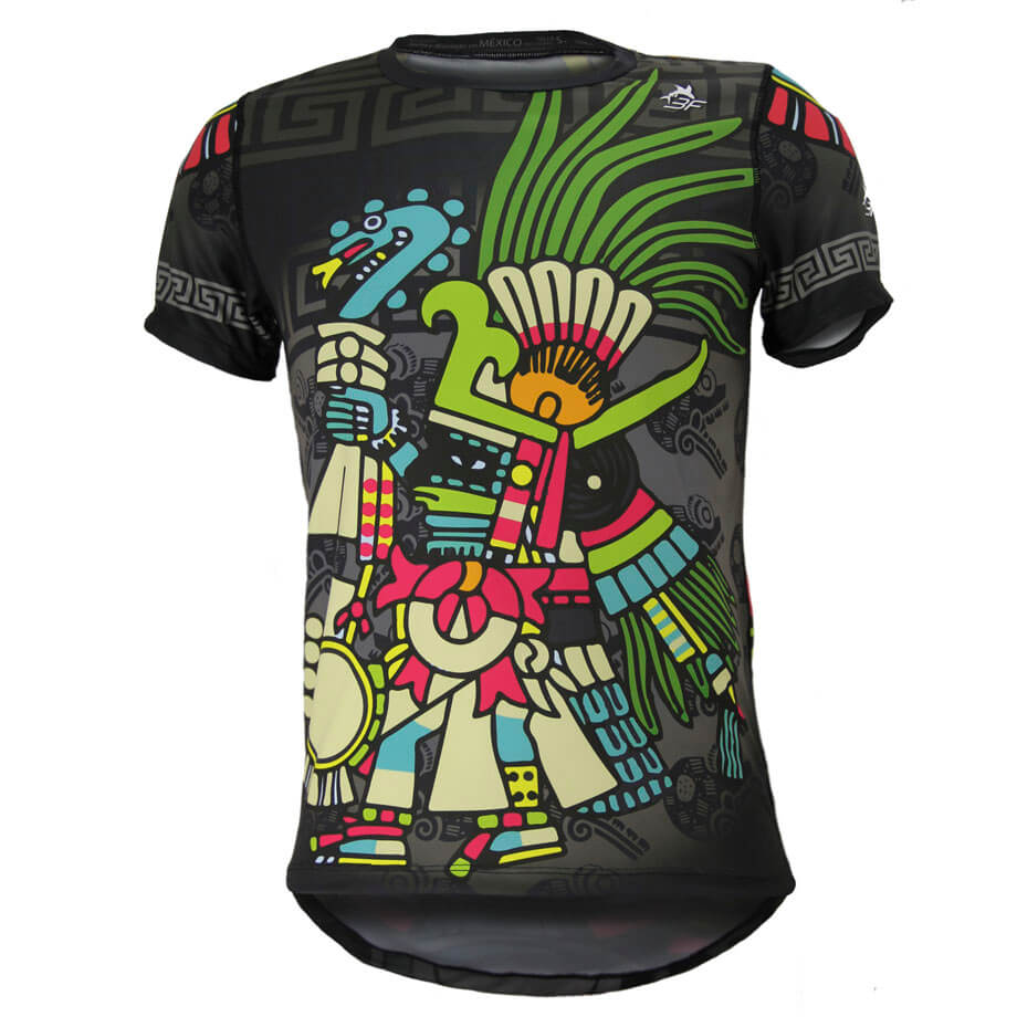 Huitzilopochtli_Frente_Playera_Duo DryFIT Hombre TriFerrari 3F
